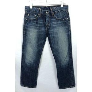 AG Adriano Goldschmied Ex Boyfriend Crop Jeans